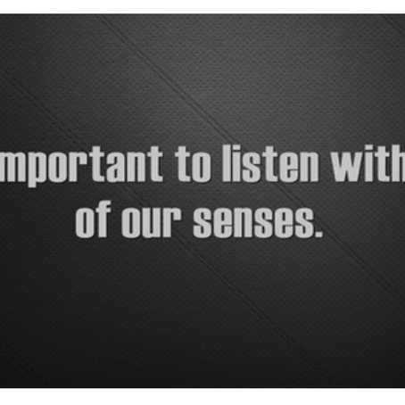 Listening Is Essential for Community Growth