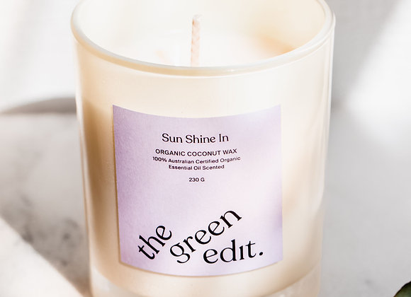 The Green Edit Organic Candle