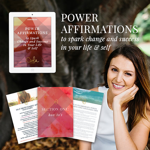 Change Your Life And Self With Affirmations