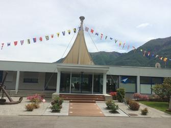 Nuova entrata Porto Patriziale Ascona