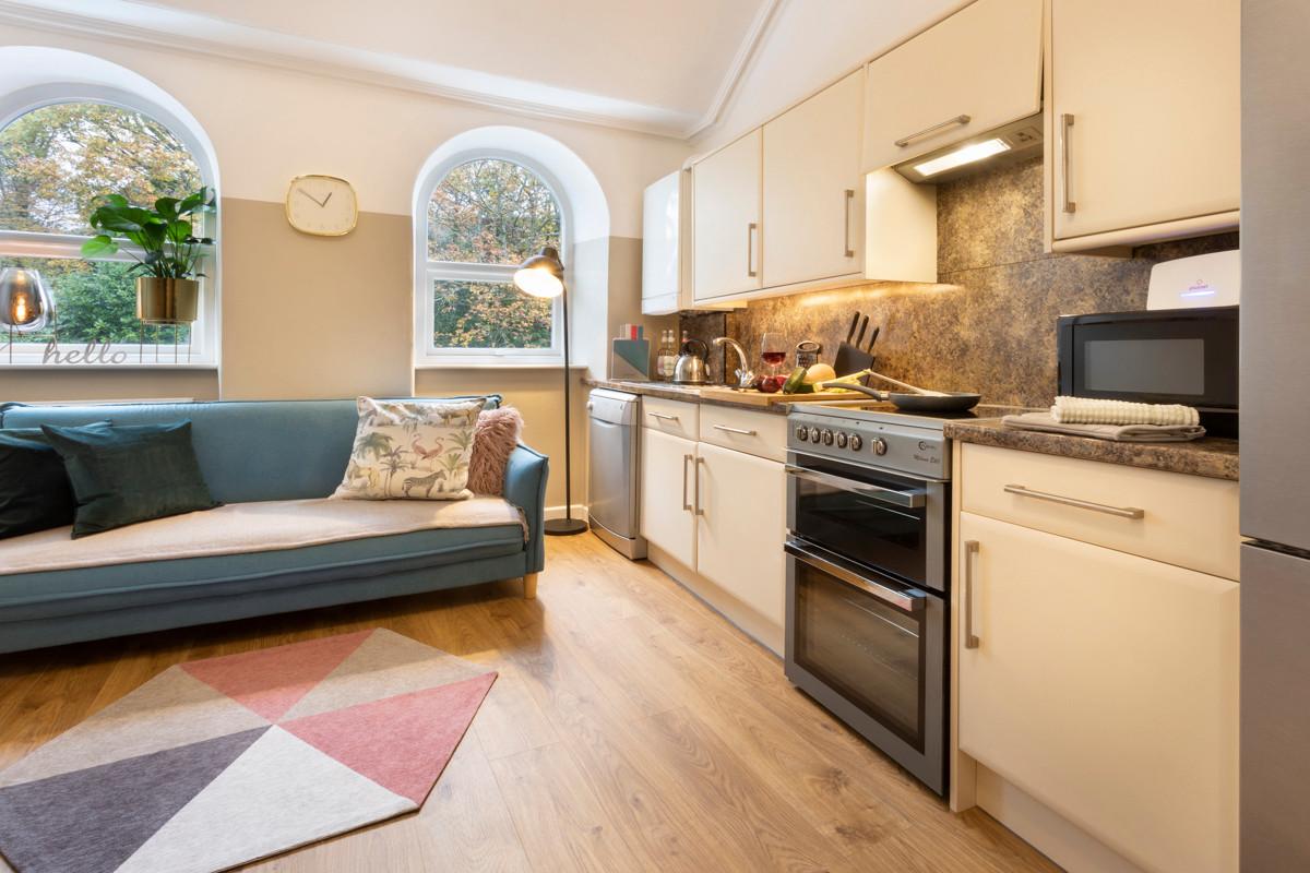 No.14 Church Street - Living Room _ Kitc