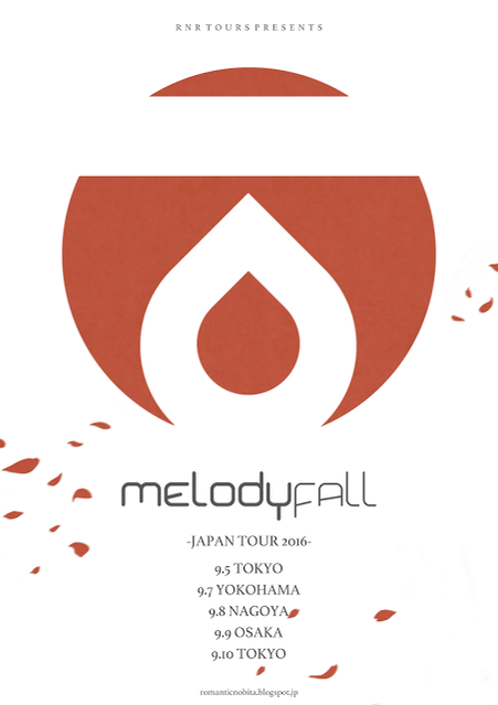 Melody Fall (from Italy) Japan Tour 2016