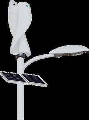 Wind turbine light pole - GSP
