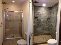 Shower Remodel Process