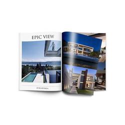 Magazine and Ad design