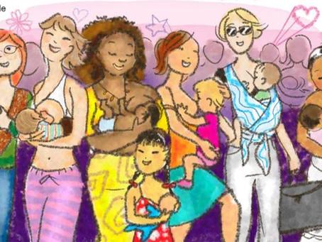 Importancia de los grupos de apoyo para la lactancia y crianza
