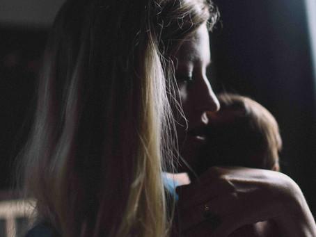 Carta de un bebé a una madre agotada