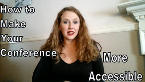 Video & Transcript: How to Make Your Conference More Accessible