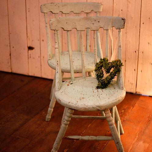 Chaise gunstock vendues-sold
