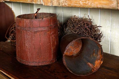 Barils à eau d'érable en bois