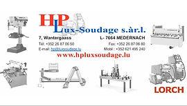 Hp Lux -Soudage Medernach