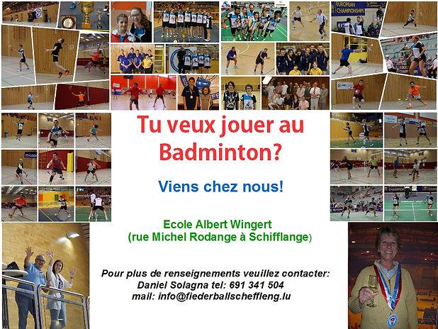 Badmitnon Club Luxembourg Schifflange