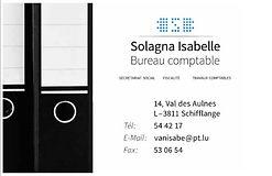 Solagna Isabelle Bureau comptable