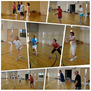 Freizeitspieler Training, Entraînement loisirs, Badminton Club Schifflange