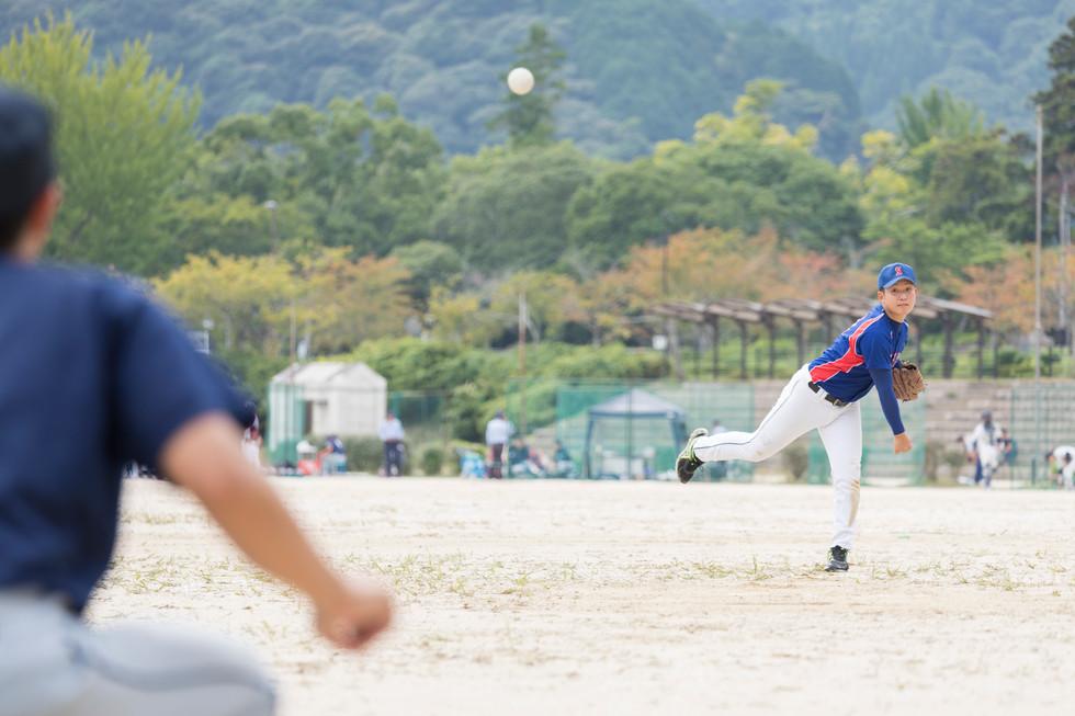 草野球イメージ撮影