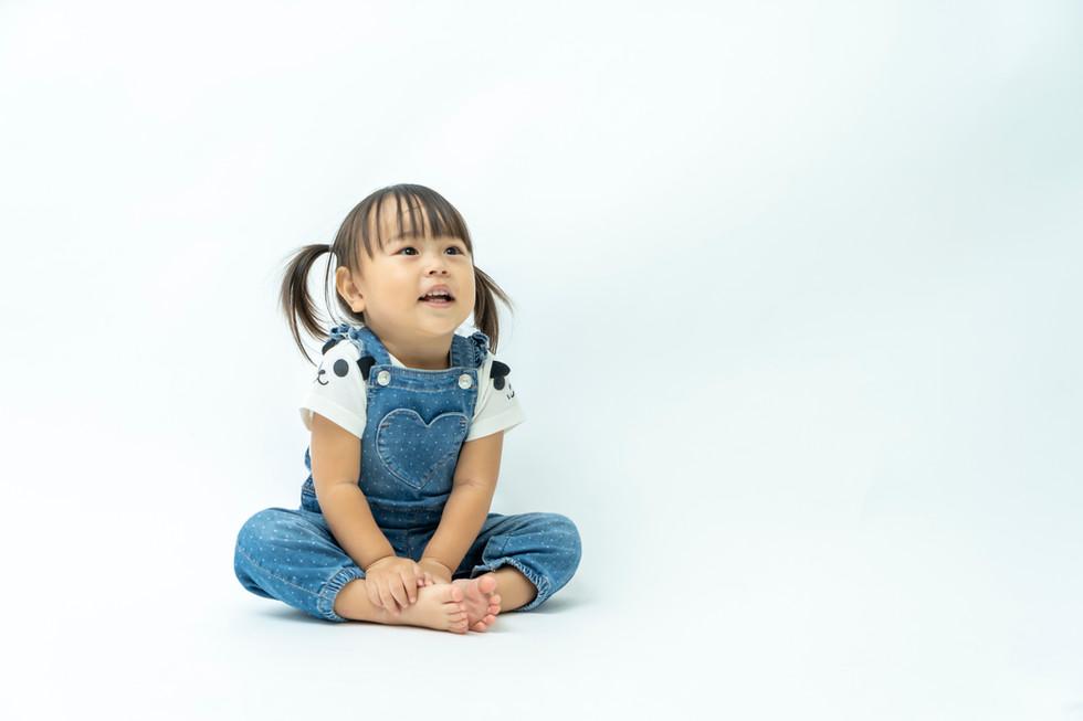 二歳児イメージ撮影