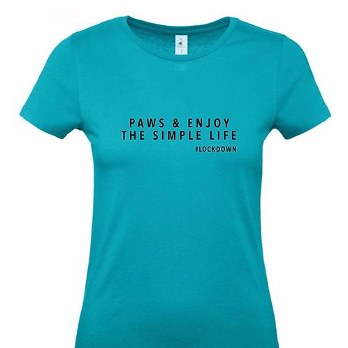 Paws & Enjoy, T-Shirt