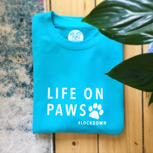 Life On Paws - Turquoise Jumper - Small