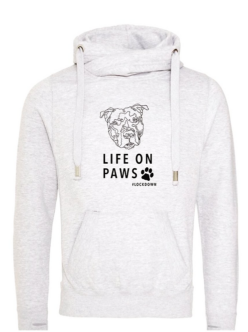 Life on Paws & Dog Face - Hoodie