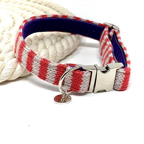 Geranium - Wallie Design - Dog Collar