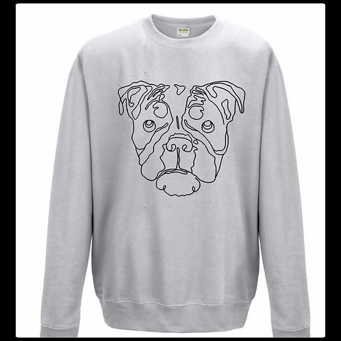 Grey Dog Jumper
