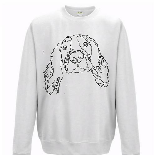 White Dog Jumper