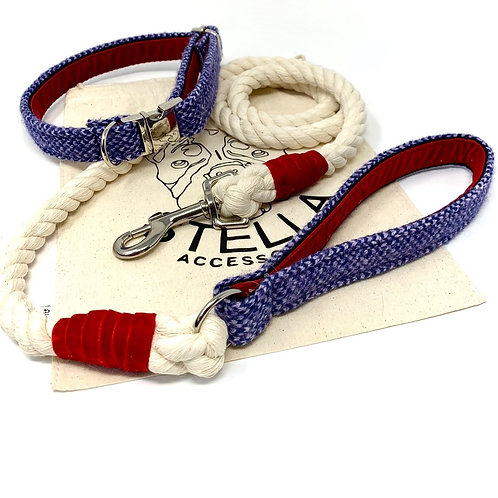 Blue Bundle (Rope Lead) - Harris Design