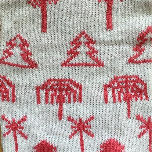 Scandi Tree Blanket