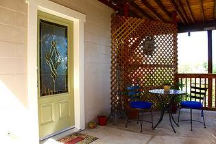 Casa de Luces Entry and Patio