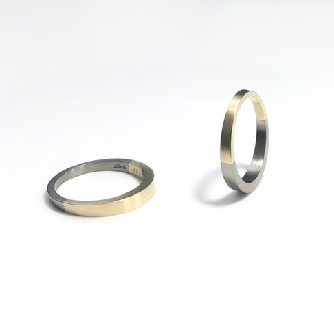 Semi custom made marriage ring.