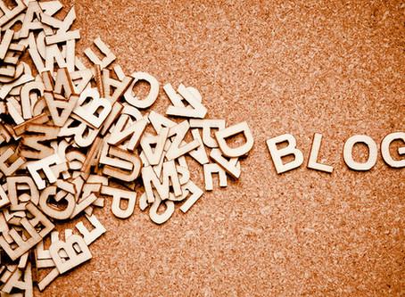 Ho un blog! Abbiamo un blog!