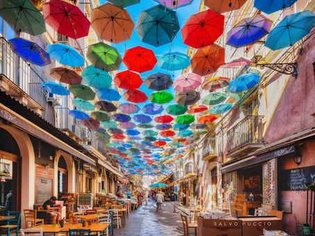Quando a far notizia sono gli ombrelli