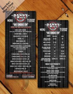 rackcard-menu mockup