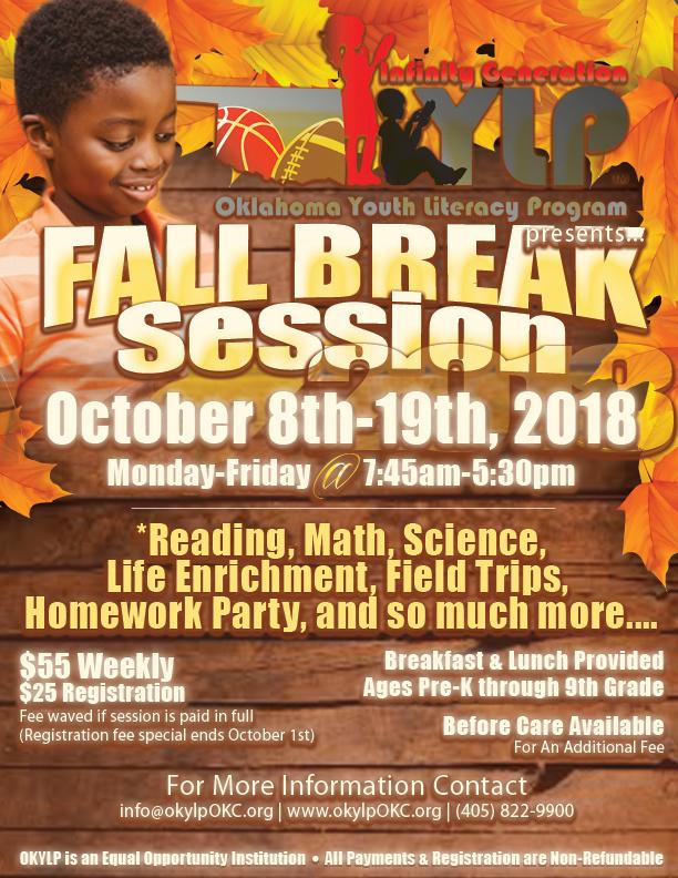 okylp fall break 2018