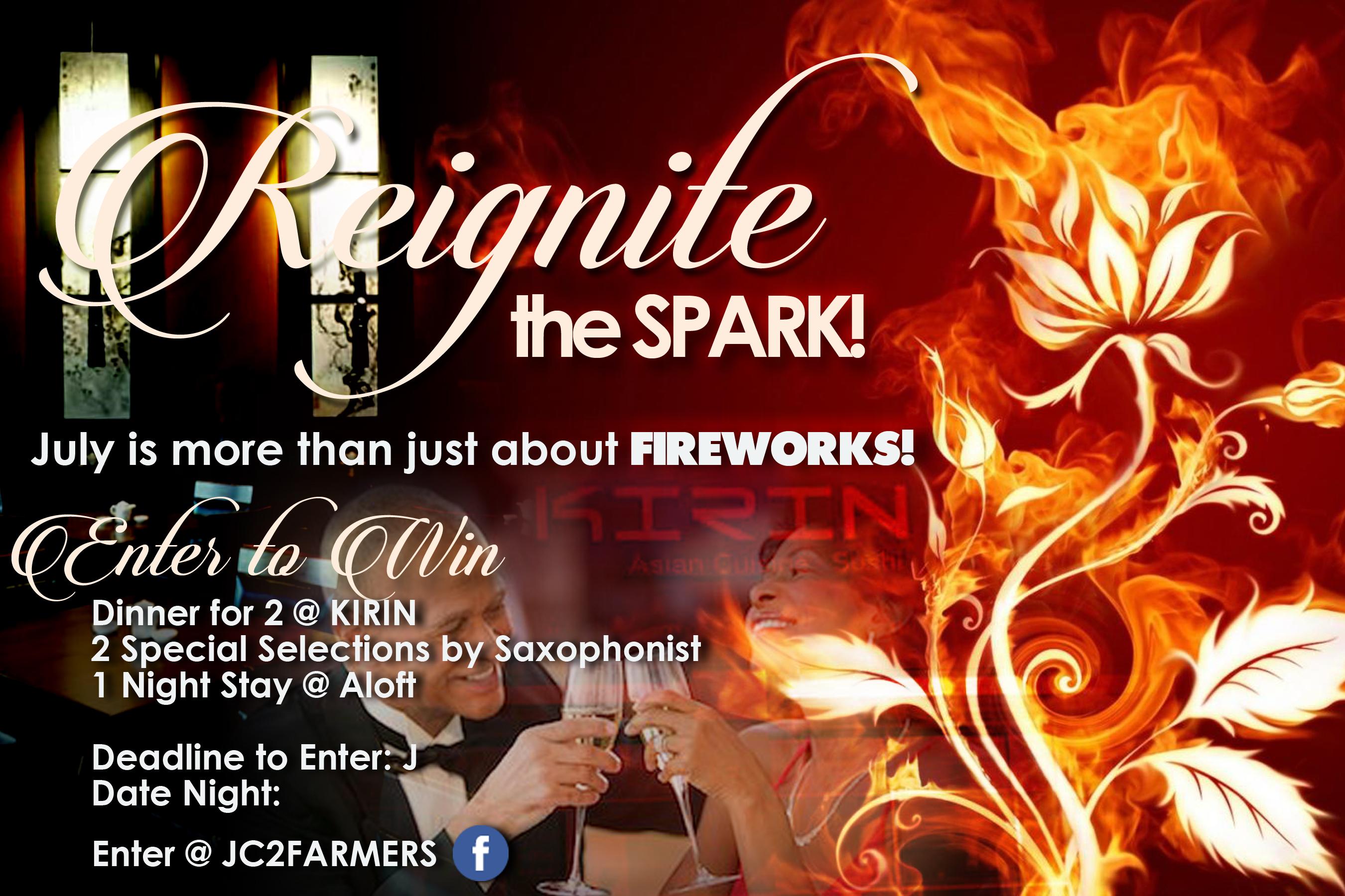 reignite the spark 2018 flyer 6x9