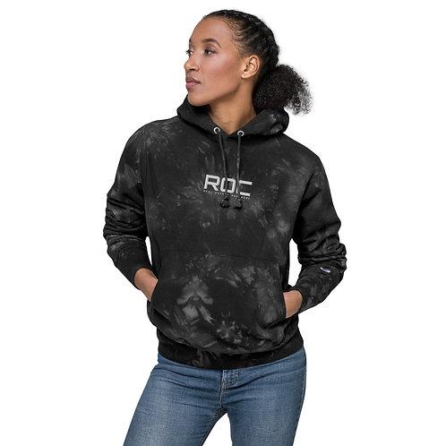 Unisex ROC Champion tie-dye hoodie