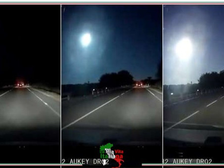 Sardegna - Esplode un meteorite
