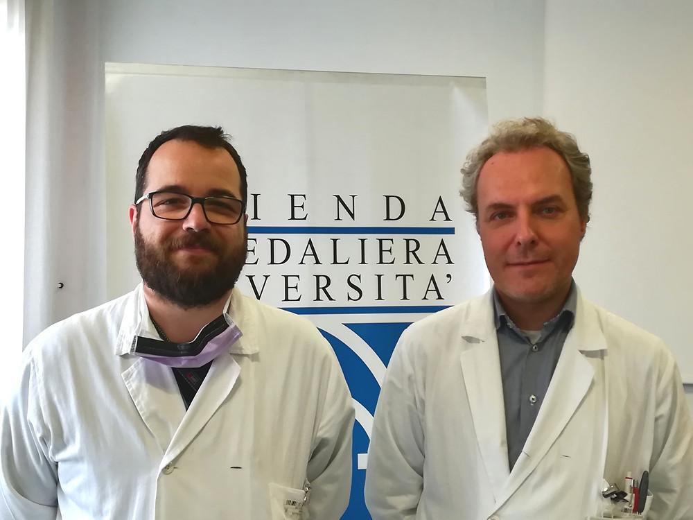 Dottori Giulio Barbiero e Michele Battistel