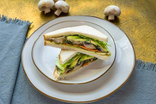 Portobello & Hummus