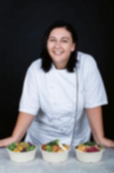 Elena Leichnitz leidenschaftliche Köchin und Foodstylistin Buddha Bowls Vienna healthy food engergie energy lunch Mittagessen frisch fresh Wien gesundes essen trendfood protein