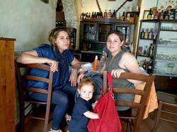 Sabrina, Isabella ed Ale