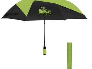 "46"" Vented folding umbrella"