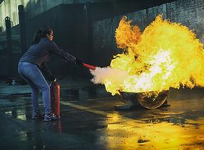 Tulekustuti käsitlemise koolitus Tulipun