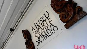 Série - Museu de Arte Sacra de SP | O local