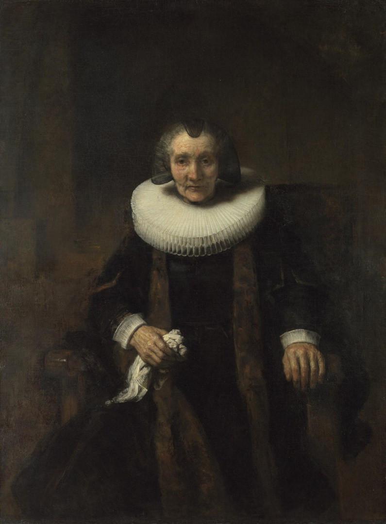 Retrato Margaretha de Geer, de Rembrandt Van Rijn