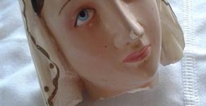 Nossa Senhora de Lourdes - Restauração
