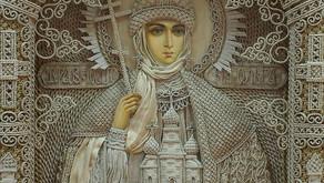 Arte sacra com macramê