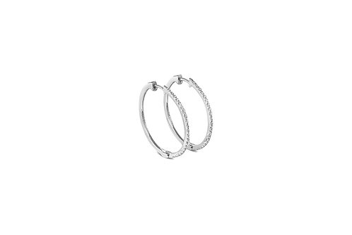 The Diamond Hoops Extra Large