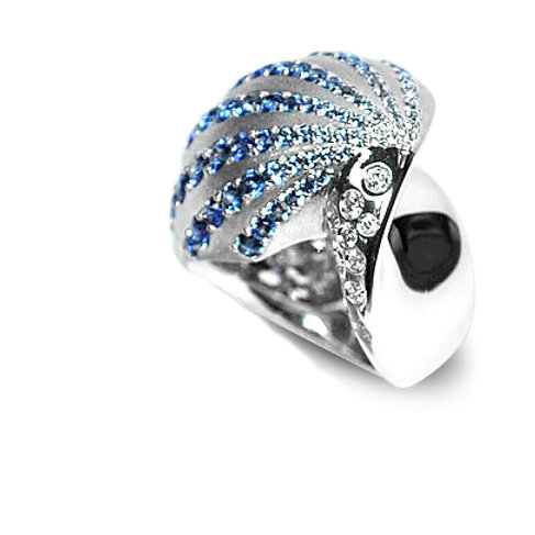 La Coquille Bleu Ring