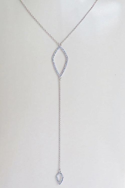 Mila Blue Sapphire Necklace